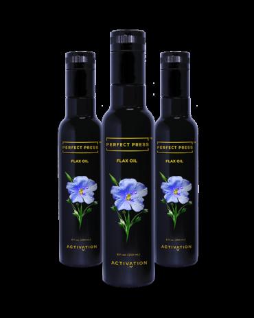3x Flax Seed Oil