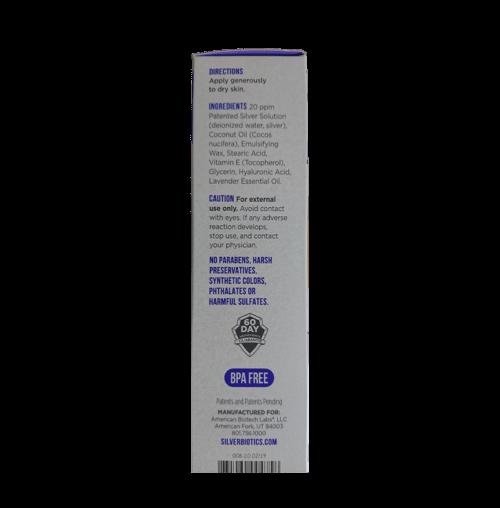 Silver biotics skin cream - lavendar