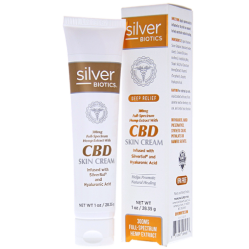 SilverSol CBD Skin