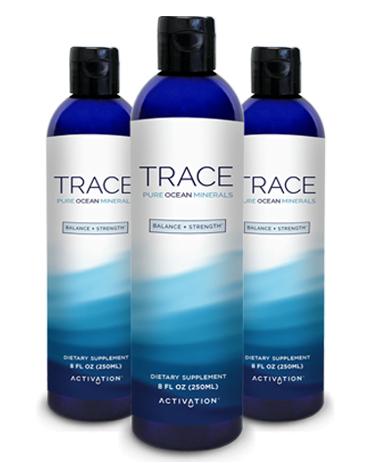 TRACE Ocean Minerals 3 Bottles