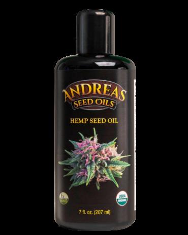 Hemp Seed Oil (207ml) - Andreas Seed Oil's